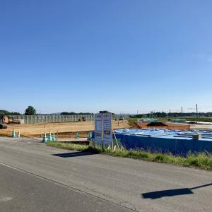 ロイズランド駅の建設風景を見てきた【2021.7.19】