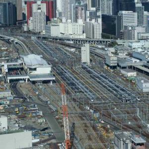 工事中の高輪ゲートウェイ駅を見てきた