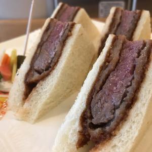新世界グリル梵@銀座 歴史あるビーフヘレカツサンドが美味すぎる!!