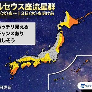 【夏休み自由研究】ペルセウス座流星群をライブ中継で見よう!【超短時間完成】