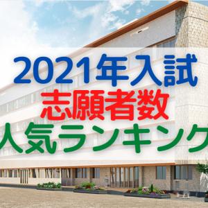 2021年中学受験の志願者数(応募者数)ランキング!【男子校編】