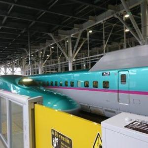 札幌から八戸へ北海道新幹線で