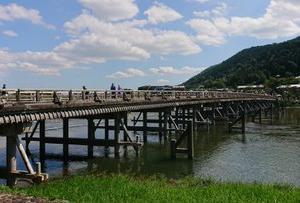 嵯峨嵐山編ラスト 渡月橋