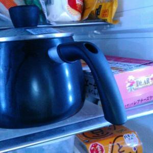 ケトル鍋大活躍、麦茶作りが苦にならなくなりました。