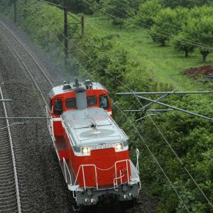 撮り鉄 常磐線DLハンドル訓練 宇都宮常駐機変更