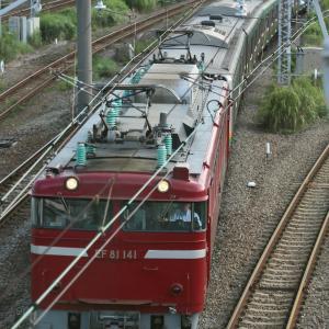 撮り鉄 E231系配給 5971レ