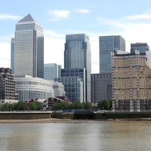 ロンドンで地球温暖化のデモ