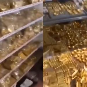 中国の公務員の自宅からとんでもない額の金塊と現金が発見される スケールが違い過ぎる