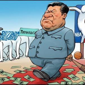 【画像】中国の習主席、風刺されてしまう