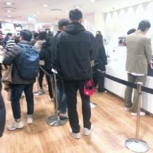 韓国ユニクロがヒートテック無料サービス開始 店舗に客が押し寄せる 「不買なんか関係無い!」