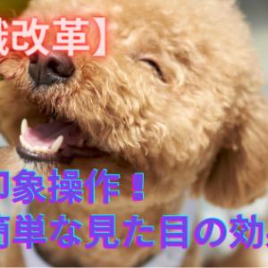 【意識改革】印象操作!簡単な見た目の効果!
