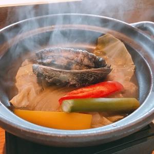 波津の海を見ながら食べる鮨屋台ランチでおすすめコースはアワビのダンス!