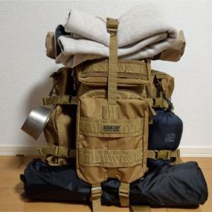 【厳選】リュック(バックパック)だけで行く秋冬ソロキャンプ持ち物リスト