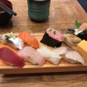 神谷町駅から板前寿司愛宕店ランチに行ってみた!メニューや混雑状況
