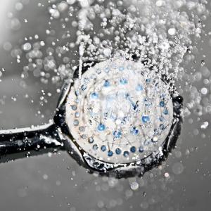 シャワーヘッドによる節水/天音・AMANE/0.19mmの水粒/ミスト
