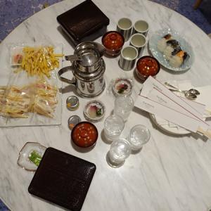 【ウエスティン都ホテル京都】ルームサービス★★2,500円のおにぎりが美味しすぎでした!