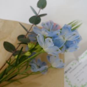 ポストにお花が届きました♪【Bloomee LIFE】お花の定期便★★お花のサブスクです★★