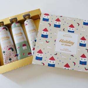 可愛いハンドクリーム3本♪【BEYONDビヨンド】ホリデーエディション