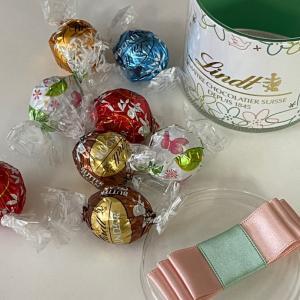 プレゼントにもらった『リンツのチョコ』★嬉しい&美味しいですね~♪