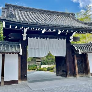 月に一度のホテルステイ♪7月は京都【HOTEL THE MITSUI KYOTO】スイートです✨