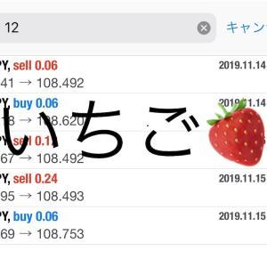 11月15日FXEA自動売買ソフト収益