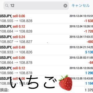 12月5日FXEA自動売買ソフト収益