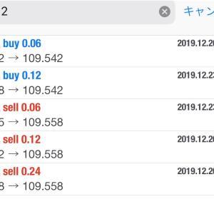 12月26日FXEA自動売買ソフト収益