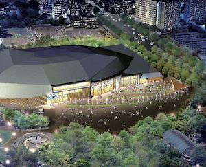 愛知県体育館オープン後の名城公園内ランニングコースの方向性が決定。