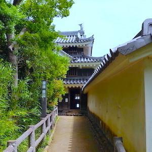 名古屋ランニングコースガイドvol.129「西尾市歴史公園周辺(西尾市)」。