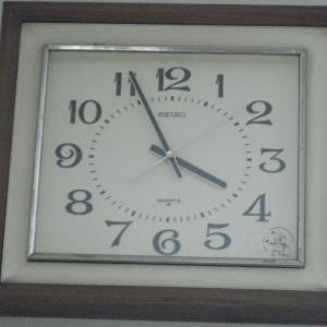 25年以上現役な、我が家のSEIKO壁掛け時計