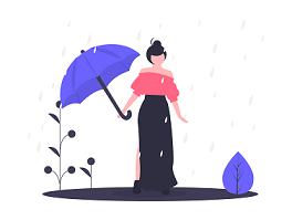 雨が続いて仕事にならない