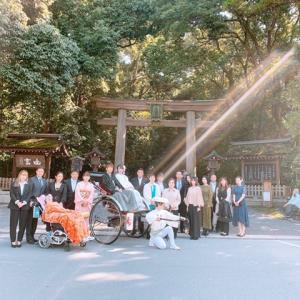 あの次女が大神神社で結婚式