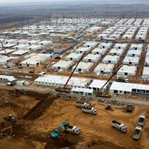 報道されない中国の感染拡大による隔離施設