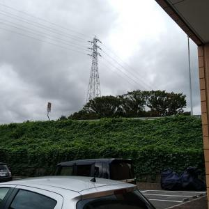 和歌山はまだ曇り