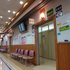 昨日は病院で検査。
