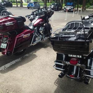 コロナ対策、バイク。