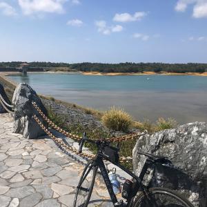 沖縄ロードバイク 倉敷ダムと渡具知ビーチ ランチマップ「バーガーキング」