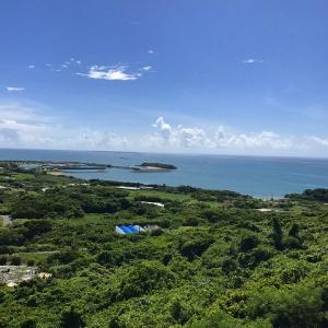 沖縄ロードバイク 与座ガーで水浴び