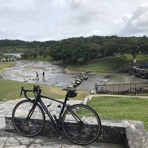 沖縄ロードバイク 倉敷ダム