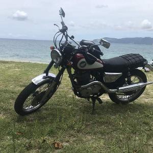 沖縄バイク CL400 ツーリング
