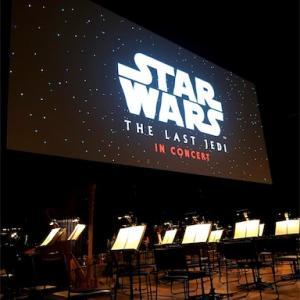 スター・ウォーズ  シネマ・コンサート 2019 『最後のジェダイ』を観てきた