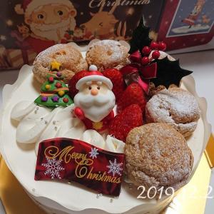 【クリスマスケーキ】特に何もしなかったけどケーキは食べた 2019.12.24*
