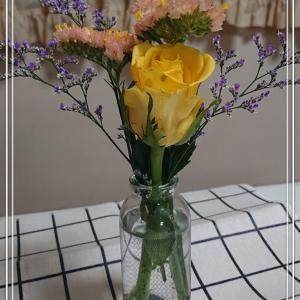 【花のある暮らし】初めてのbloomeeが届いた*