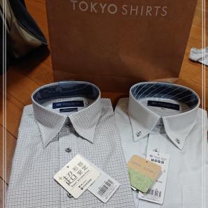 【TOKYOシャツ】夏用半袖Yシャツを購入*