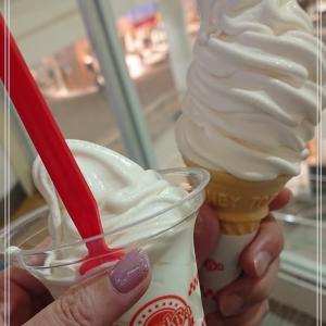 【スガキヤソフトクリーム】暑くなってきて頻度が増える*
