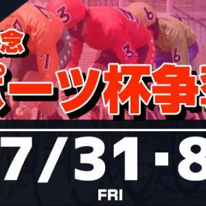 F1 日刊スポーツ杯争奪戦買い目情報【玉野競輪予想7/31】