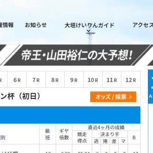 F1 スポーツニッポン杯買い目情報【大垣競輪予想11/30】