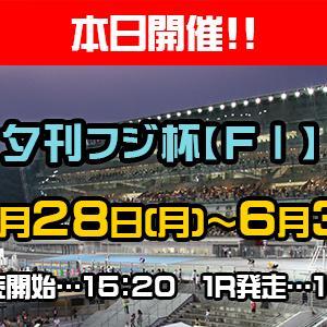 F1 夕刊フジ杯買い目情報【いわき平競輪予想6/30】