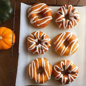 かぼちゃのイーストドーナツ