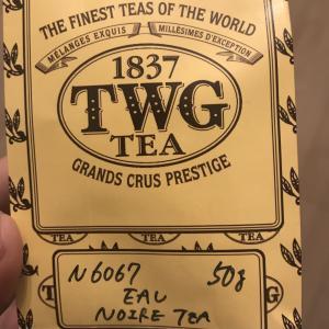 花の香りがする紅茶:TWG Eau Noire Tea